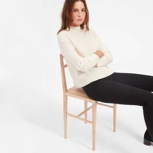 Everlane Cashmere Square Mockneck Pullover Sweater